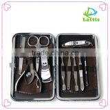 2016 Hot sale manicure set nail clipper &pedicure set with high qualiry and cheap price/stainless steel