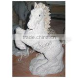 Life Size Stone Horse Sculpture Statue