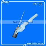 Safety hypodermic injection needle