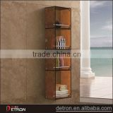 Adjustable shampoo shelf bathroom units