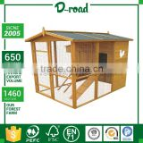 Comfortable Design 3D Custom Commercial Chicken Wood House