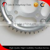 motorcycle sprocket fine blanking wave125 rear sprocket chain drive sproccket 428H/520/530 golden chain and sprocket