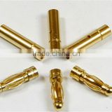 2.0mm 3.0mm 3.5mm 4mm 5.0mm 5.5mm 6.0mm 8.0mm banana gold plated connector male and female for RC ESC LIPO Battery