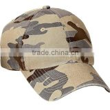 Factory customized high quality camo fashion hat, custom camo trucker hat