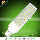 High quality 100-277V 8W~12W aluminum LED G24 plug light