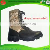 2014 new design anti-slip water proof wearable side zipper cheap beige military desert boots