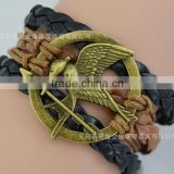 Silk thread bangles laugh at the bird fashion bracelet