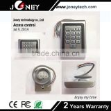 Metal hosing, vandal-proof and keypad with back light rfid card elevator access control system