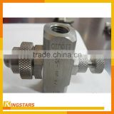 Siphon gas and water atomizer, air atomizing nozzle,mist nozzle