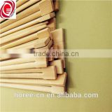 Chinese flatware disposable bamboo chopstick with paper cover