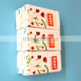 OEM customs printed pocket facial tissue 3ply 13.5gsm 21*20.5cm Standard Advertising pocket tissue for hotel