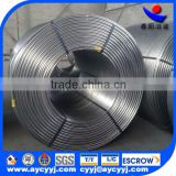 chinese gold supplier calcium silicon cored wire with metal alloy powder