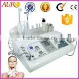 Factory price multifunctional 7 in 1 salon galvanic facial beauty equipment for sale AU-8208