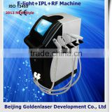 Pain Free 2013 New Style E-light+IPL+RF Machine Www.golden-laser.org/ 560-1200nm Multifunctional Electric Pedicure Device Age Spot Removal