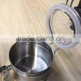 stainless steel canister tea coffee cigarette
