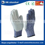 hot products 2017 CE level 5 security protection safety working cut resistant gloves,HPPE anti cutting gloves/safety gloves