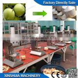 Automatic young coconut trimming machine