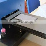 A4 Size Inkjet Digital Flatbed Color Printer For Wood, Glass, Crystal, ABS, Acrylic, Metal, Stone,Leather,Garment