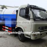 best quality new small 6t dongfeng vacuum cesspit emptier truck