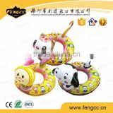eco-friendly Phthalate Free Cartoon colorful Inflatable floating inflatable baby swimming ring