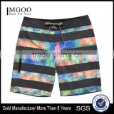 Tie-die Board Short for Man Two-Way Stretch Free Movement Beach Sport Shorts Customize Side-Zippered Pocket Beachwear