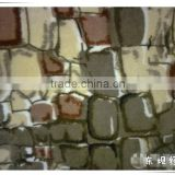 Fashion stone pattern printing fabric for bedding set