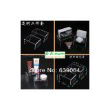 High quality and low price U shape two-piece a set display case to display cosmetic and accessories