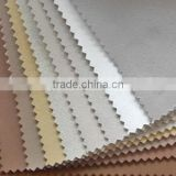 High class full grain pu synthetic leather for shoes