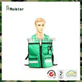 Customized new design safety vest high visibility