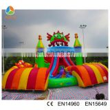 2016 giant dinosaur inflatable amusement park outdoor adult playground inflatable fun city