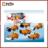Novelty pull back metal casting car