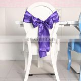 2015 World Best Selling Products Chair Decoration For Banquet Hall Organza Fabric Bow For Chair Bow Tie