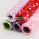 High Quality customized hand-made printed organza roll
