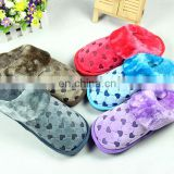 Hot Sales Washable Bedroom Winter Cotton Slipper
