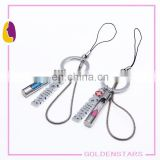 2015 Promotional Souvenir Giveaway Gift OEM Custom 3d soft pvc mobile phone strap / DIY mobile phone strap / mobile phone chain