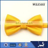 wholesale stylish twill yellow bow tie