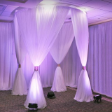 2018 Manificent wedding decoration wedding pipe and drape for Romantic wedding from RK