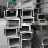 free sample stainless steel c channel 310 304