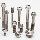 M8 adjust titanium bolt hex head