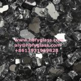 crushed tempered reflective glass for barbecue and house heater