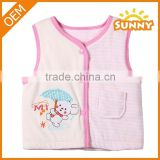 Wholesale Low Price Winter baby girl Vest