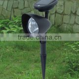 Solar Lights, LED Wall and Landscape Light; Spotlight Bright-and-Dark Sensing Auto On/Off Security