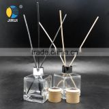 135ml square natural scent reed diffuser glass bottle with aluminum cap glass diffuser bottle                                                                                                         Supplier's Choice
