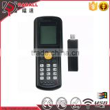 Trade Assurance RD 9800 wireless data collector code bar scanner upload data to excel with keyboard for inventory