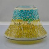 new votive wholesale hurrican glass mosaic wedding lamp shade