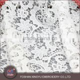 Fashion promotional custom latest new fashion embroidery net dress embroidered bridal fabric designs