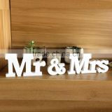 wholesale art minds wooden letters ''Mr & Mrs'' ''LOVE'' Wooden Letters Wedding Top Table Sign Gift Decor White New