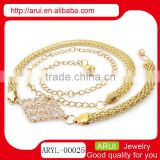 Handmade from thailand gold belly waist chain China wholesale