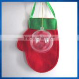 6cm Clear Bauble,Christmas decoration hanging capsule