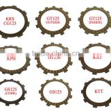 Top Quality Paper Base Friction Clutch Plate Motorcycle Spare Parts for Suzuki